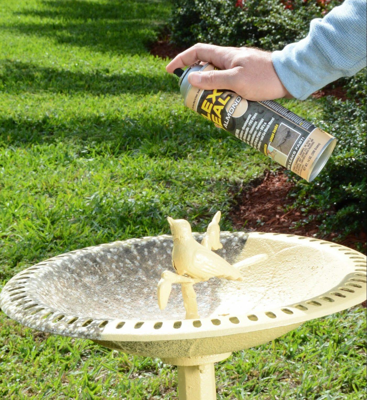 is flex seal safe for bird baths
