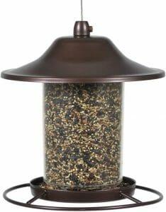 perky pet panorama bird feeder